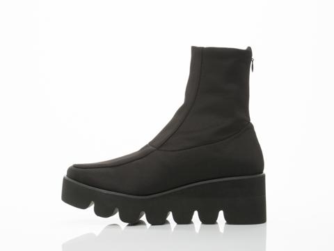 UNIF In Black Antwerp Boot