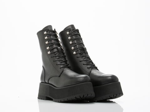 UNIF In Black Armada Boot