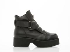UNIF In Black Cept Boot Mens