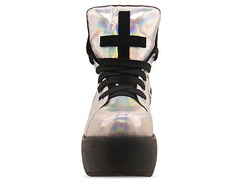 UNIF In Silver Rainbow Cross Trainer