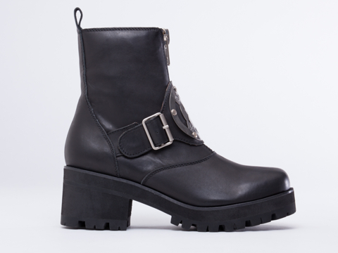 UNIF In Black DWBH Boot