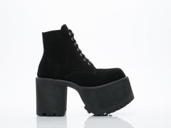 UNIF In Black Dawson Boot