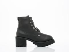 UNIF In Black Dedi Boot
