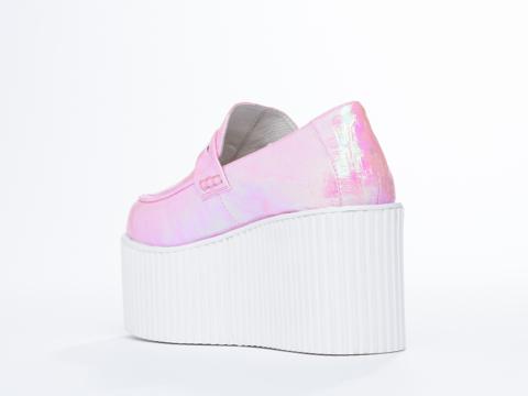 UNIF In Pink Hologram Edge Platform