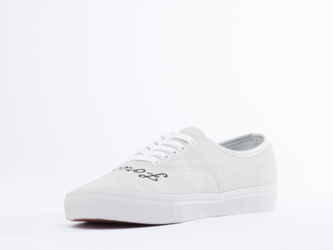 UNIF In White Suede FF Lows Mens