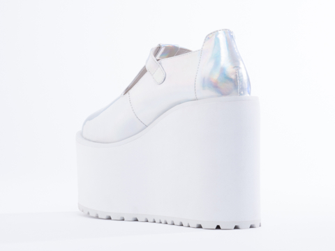UNIF In Hologram Mary Janes