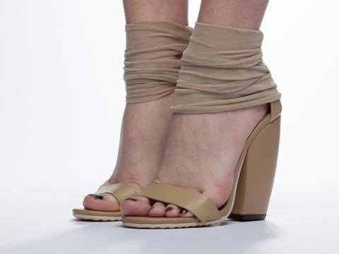 UNIF In Nude Pyre Heel