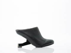 United Nude In Black Eamz Mule