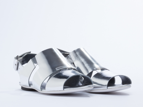 United Nude In Silver Kim Lo