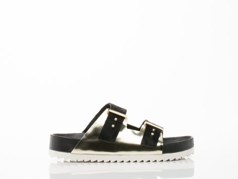 United Nude In Gold Black Lin Earth