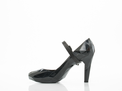 United Nude In Black Lo Res Pump