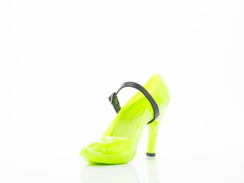 United Nude In Neon Green Lo Res Pump