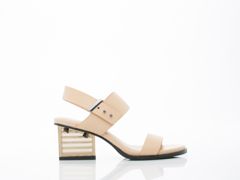 United Nude In Nude Mid Rise Sandal