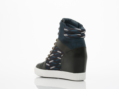 United Nude In Black Riz Blue Navy Play