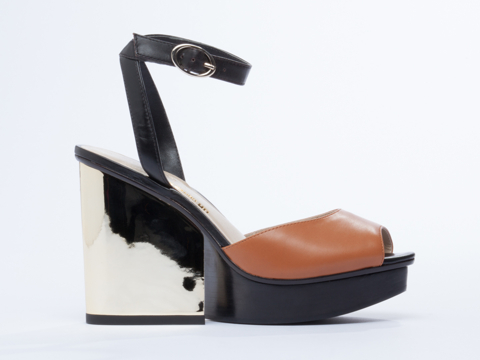 United Nude In Black Hazel River Sandal