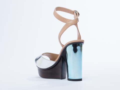 United Nude In Nude Silver River Sandal
