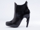 United Nude In Black Shadow Bootie