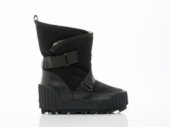 United Nude In Black Snow Bootie