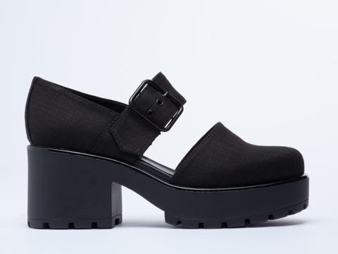 Vagabond In Black Dioon 180 Sandal