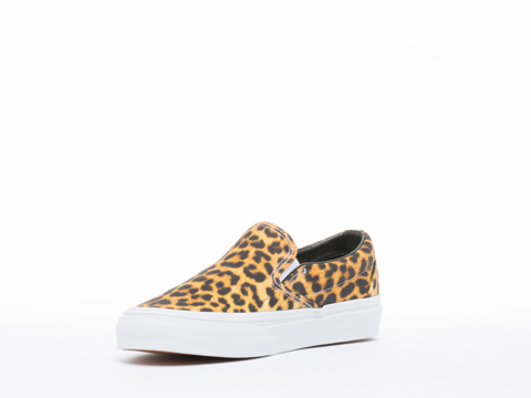 Vans In Digi Leopard Black True White Classic Slip On