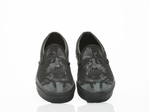 Vans In Star Wars Dark Side Darth Vader Classic Slip On Mens