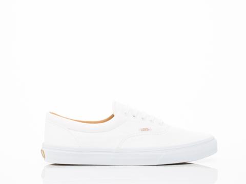 Vans In True White Premium Leather Era Mens Leather