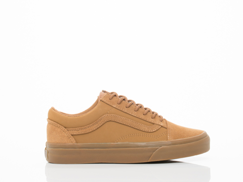 Vans In Tobacco Brown Suede Old Skool