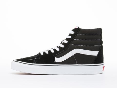Vans In Black Black White SK8 Hi Mens