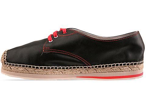 Veletto In Negro Espadrille Shoe Mens