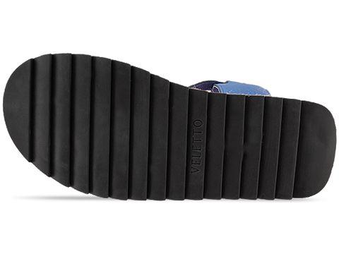 Veletto In Blue Blue Sandal
