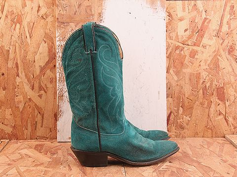 Cheap Turquoise Cowgirl Boots - Boot Hto
