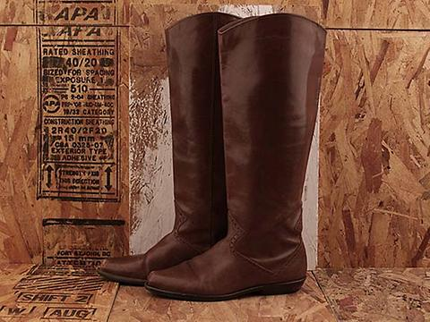 Vintage In Brown No. 479 Brown Tall Boot Size 5.5