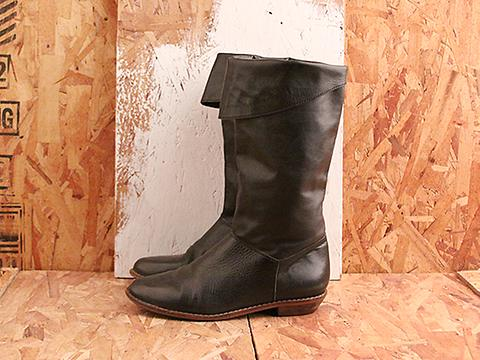 Vintage In Black No. 508 Mid-Calf Riding Style Boot Size 6