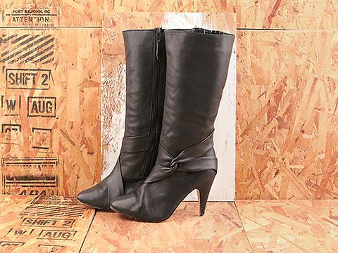 Vintage In Midnight Blue No. 548 Midnight Blue Twist Accent Boot Size 7.5