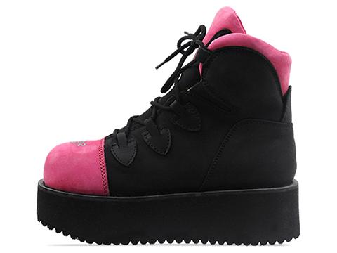 Vintage In Pink Black Swear Alternative Womens Truck 2 PNC