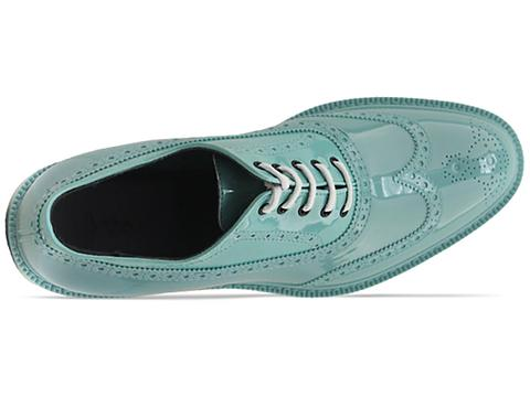 Vivienne Westwood Anglomania In Green Brogue Plastic