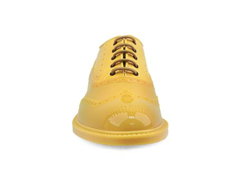 Vivienne Westwood Anglomania In Yellow Brogue Plastic