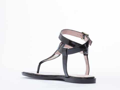 Vivienne Westwood Anglomania In Black Patent Margie