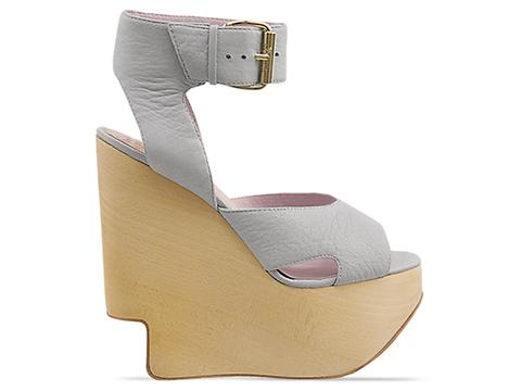 Vivienne Westwood Anglomania In Grey Leather Victoria