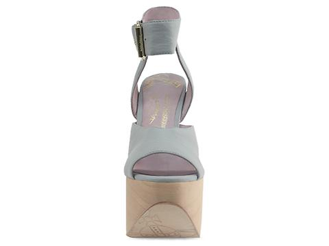 Vivienne Westwood Anglomania In Lavender Leather Victoria