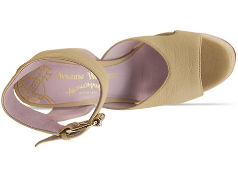 Vivienne Westwood Anglomania In Natural Leather Victoria