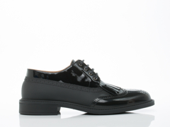 Vivienne Westwood In Black Lace Up Brogue Mens