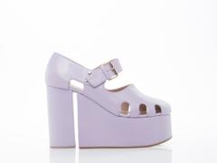 Vivienne Westwood In Lilac Towering Ankle Sandal
