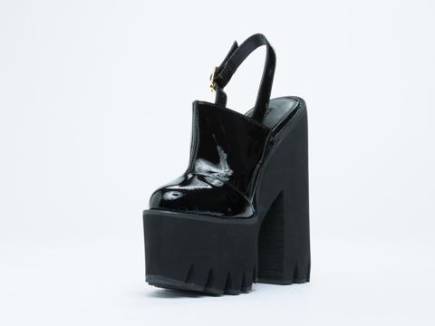 Windsor Smith In Black Patent Pip