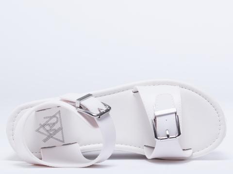 Y.R.U. In White Orion Sandal
