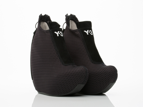 Y3 In Black Dive Wedge