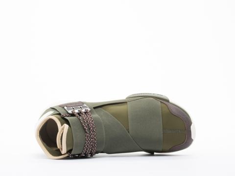 Y3 In Army Green Qasa High Mens