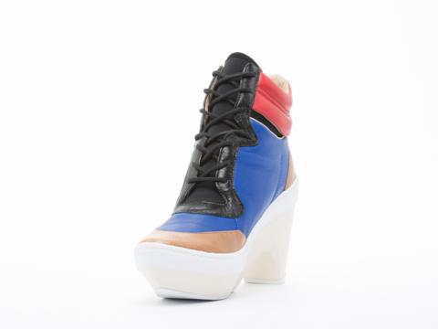 Y3 In Blue Multi Sneak Clog