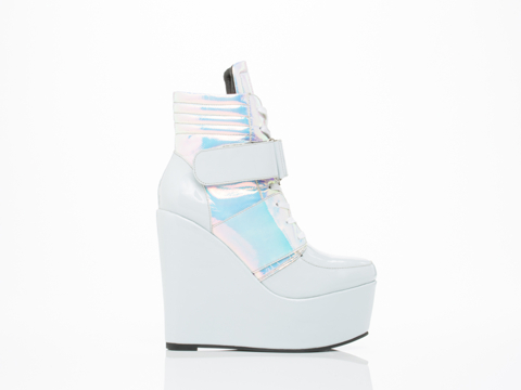 YES In Baby Blue Patent Caucau