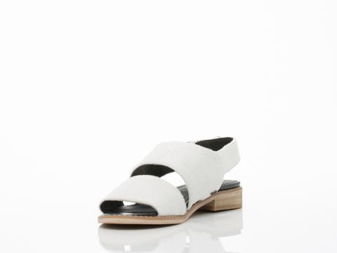 YES In White Cow Print Fur Kickstarter